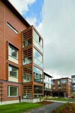Viikki wooden housing