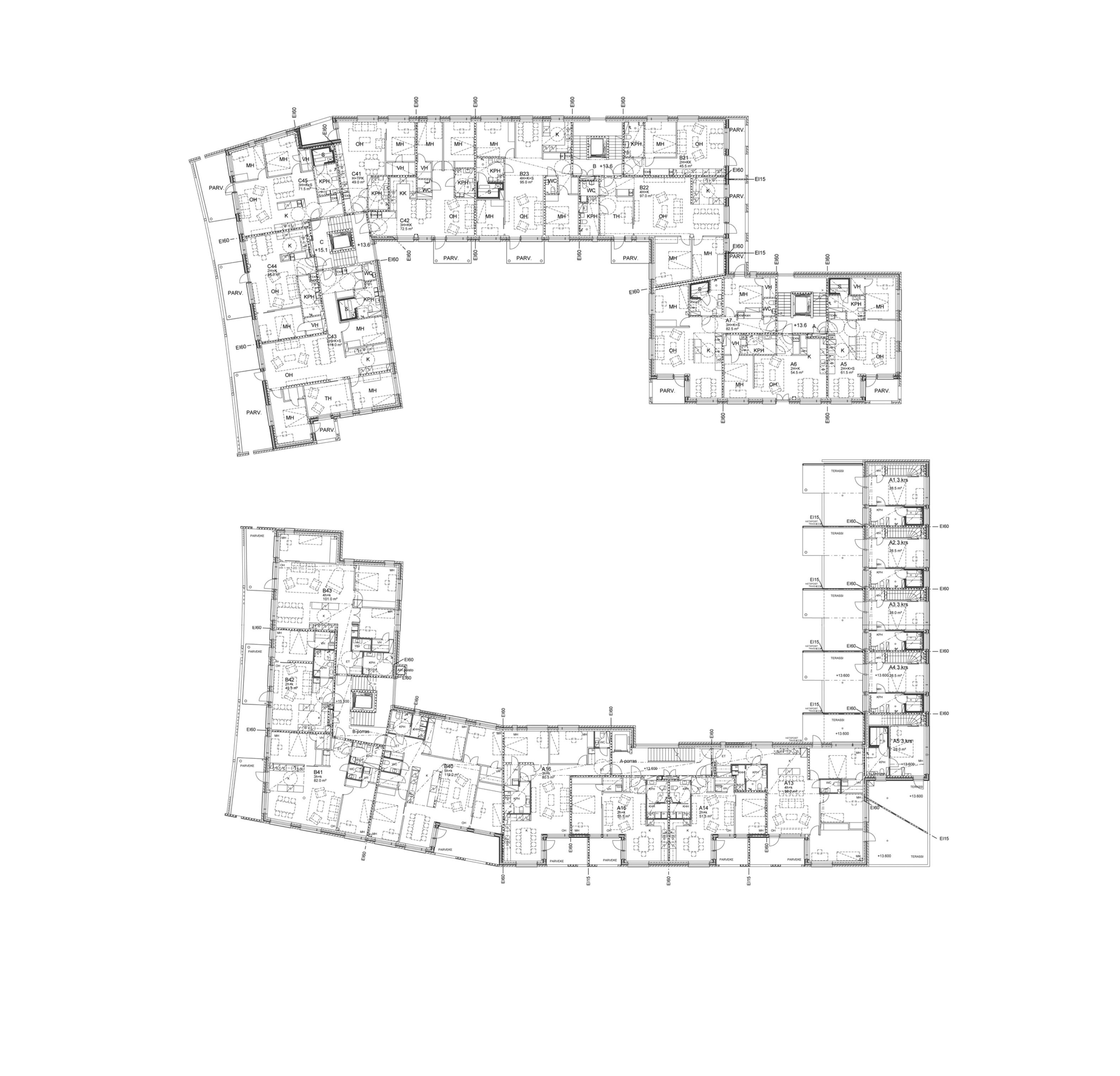 Marco Polo / Tyynimeri - Arkkitehtitoimisto H M V Oy