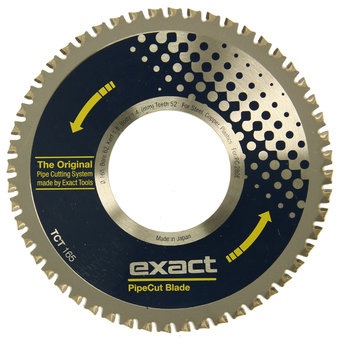 Exact pipe cut blade TCT 165