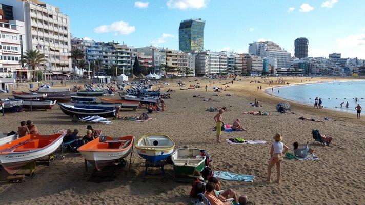 Uimarannat - Las Palmas: Las Canteras<br /> &nbsp;