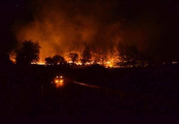 Maastopalot tuhonneet ainakin 70 hehtaaria maata