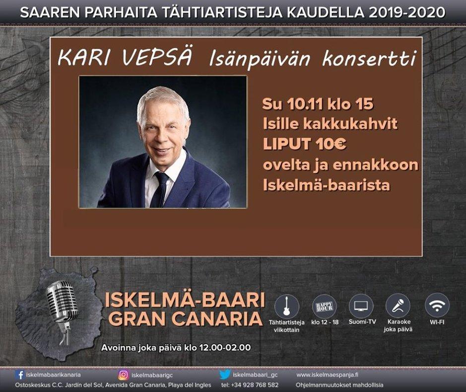 Artistit - Kari Vepsä