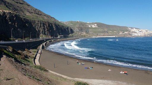 Uimarannat - Las Palmas: Playa de la Laja<br />  Gran Canaria