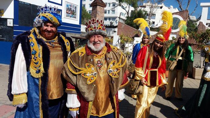 Juhlapäiviä - Kuninkaiden päivä