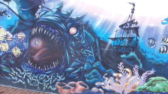 Graffitit – Las Palmas: Las Canteras