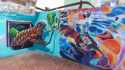 Graffitit – Las Palmas: Las Canteras Gran Canaria