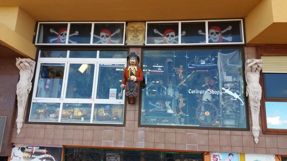 Ostosvinkkejä – Curiosity shop Las Palmasissa<br />