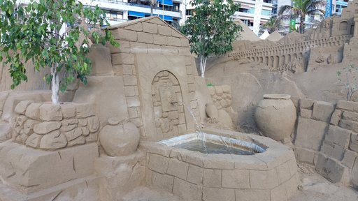 Nähtävyyksiä - Vuotuinen joulukuvaelma Las Canteraksella 2017 Gran Canaria