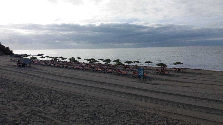 Uimarannat – Playa de Meloneras<br />