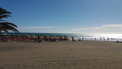 Uimarannat – Las Burras<br />  Gran Canaria