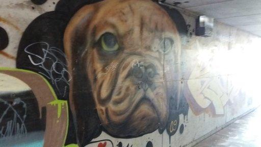 Graffitit – Maspalomas: Holidayworldin alikulkutunneli Gran Canaria