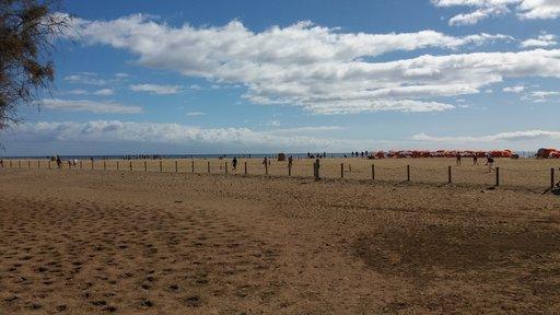 Uimarannat - Maspalomas<br />  Gran Canaria