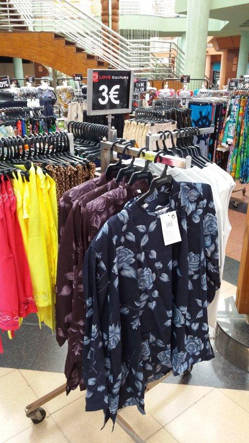 Ostosvinkkejä – C.C Varaderon ylijäämämyymälä Meloneraksessa<br />  Gran Canaria