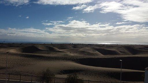 N&auml;ht&auml;vyyksi&auml; &ndash; Maspalomasin dyynit<br /> &nbsp; Gran Canaria