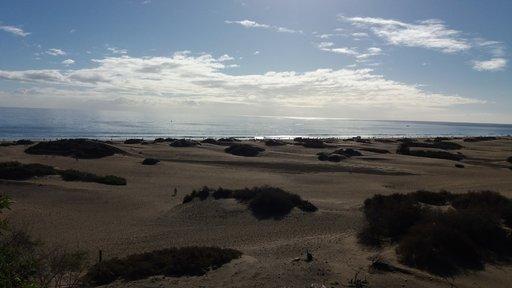 Nähtävyydet - Kanarian kuuluisat dyynit pienenevät Gran Canaria