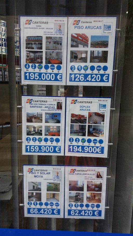 Kiinteistöt – Las Palmasin hintoja<br />  Gran Canaria