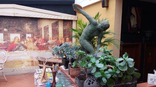 Nähtävyyksiä – Moganin taidekahvila<br />  Gran Canaria