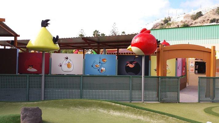 Aktiviteetteja – Angrybirdspark Puerto Ricossa<br />
