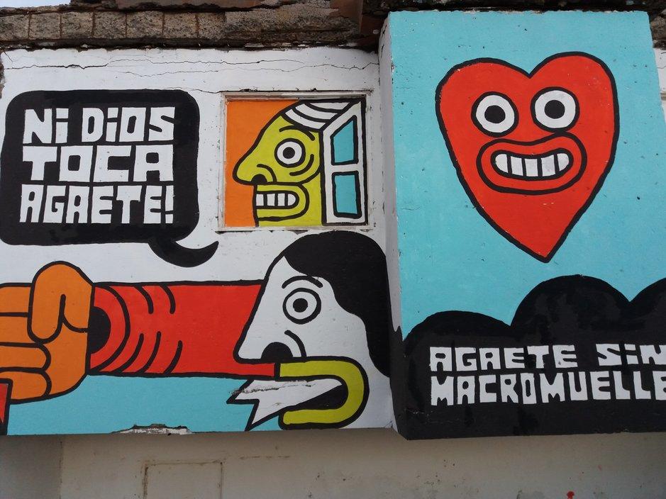Graffitit - Agaete sin macromuelle!