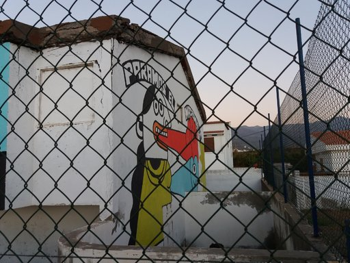 Graffitit - Agaete sin macromuelle! Gran Canaria