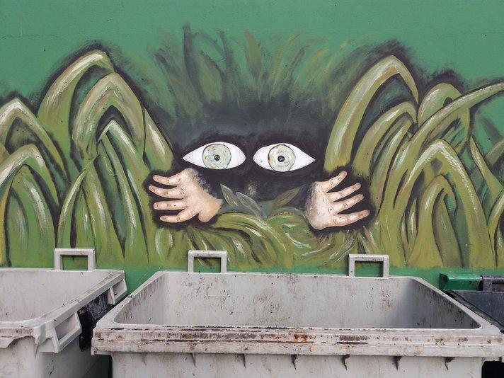 Graffitit - San Agustinin mystinen roskamörkö