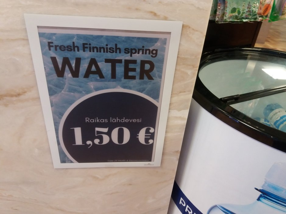 Ostosvinkit – Pulloveden osto Helsinki - Vantaan lentoasemalta<br />