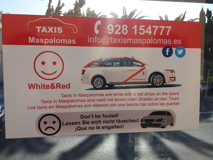 Kunnallisten taksien välillä käydään kovaa ja armotonta kilpailua asiakkaista, joten nähtäväksi jääkin ottaa esimerkiksi San Bartolomen taksiyhdyskunta tapauksesta esimerkin omalle kampanjalleen...Välikohtaus tapahtui Las Palmasissa.