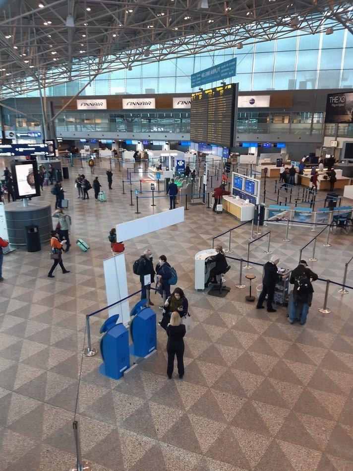 Lentäminen - Finnavian tiedote 7.4.2020