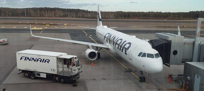 Lentäminen - Finnair rajoittaa toimintaansa
