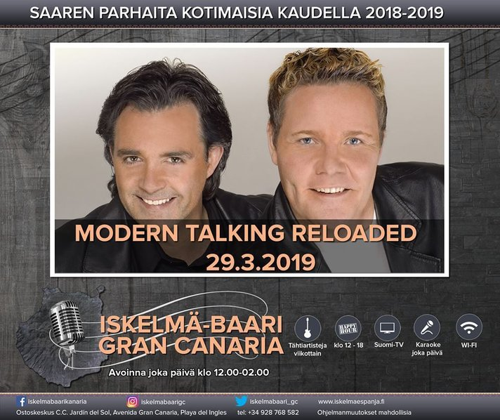 Artistit - Modern Talking Reloaded