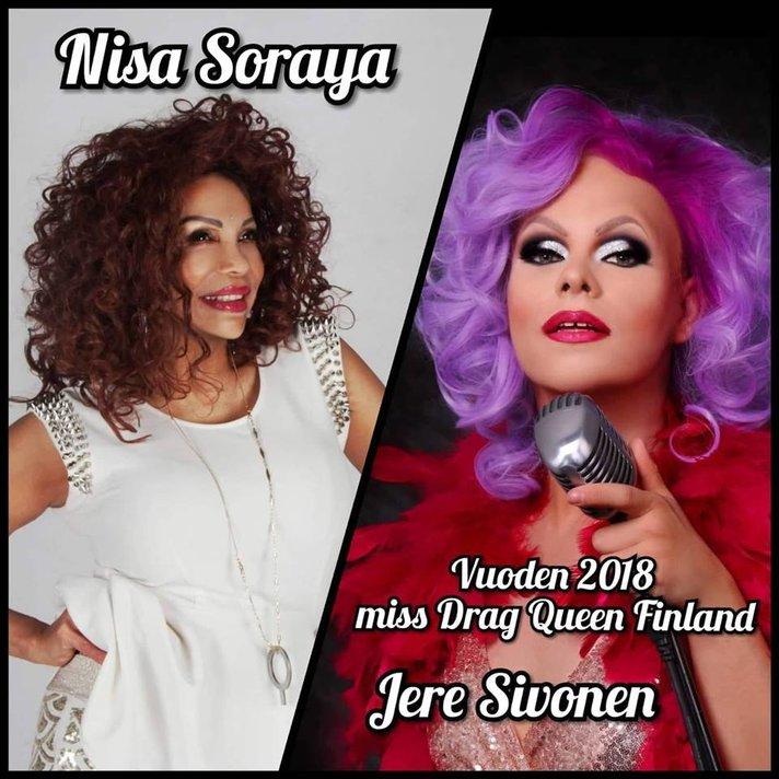 Artistit - DragShow Jere Sivonen feat. Nisa Soraya.