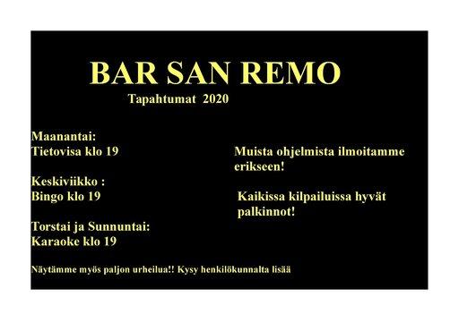 Suomipaikat - Tiedote Las Palmasin Bar San Remoon liittyen<br />  Gran Canaria