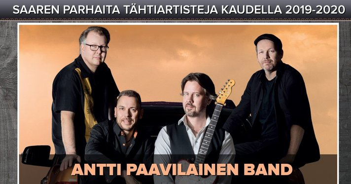 Artistit - Antti Paavilainen Band !