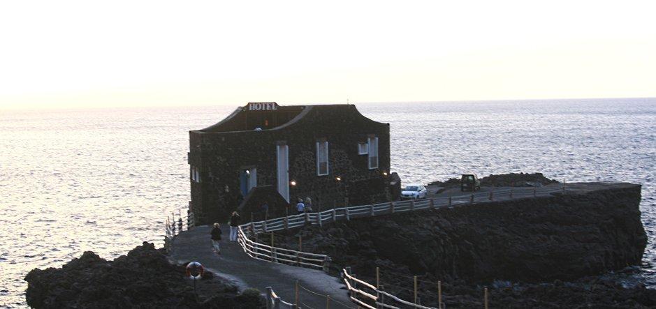 Hotelli - Maailman pienin hotelli sijaitsee El Hierron saarella