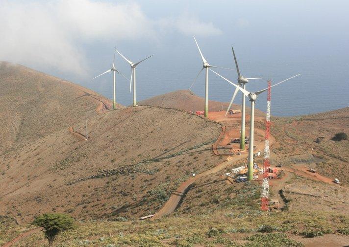 Kanarian El Hierrosta ensimmäinen vihreän energian saari