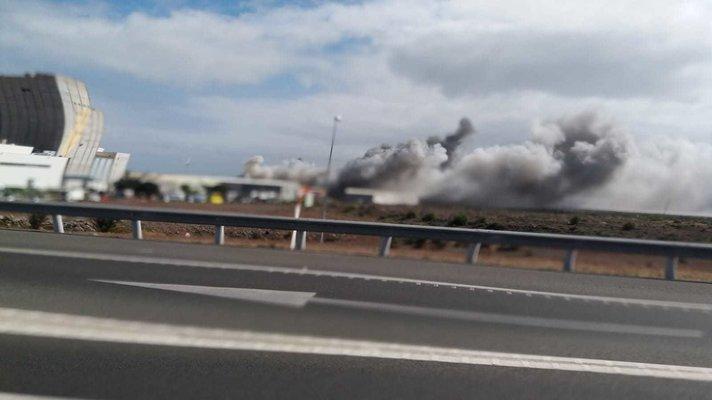 Uutiset - Arinagan teollisuusalueella oli lauantaina tulipalo.