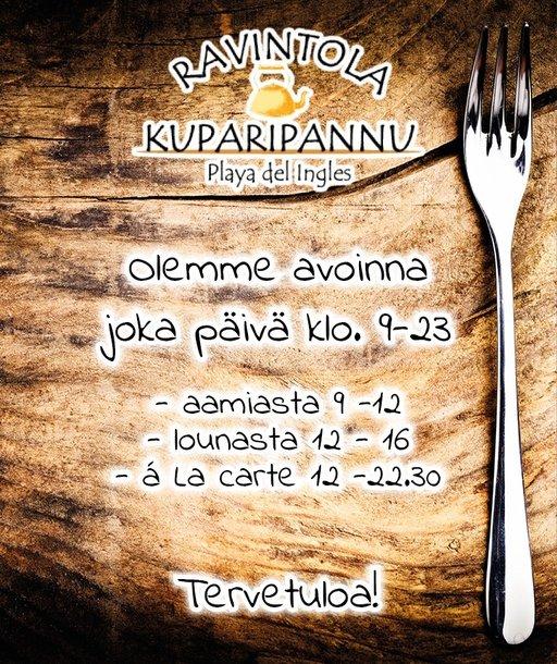 Suomipaikat - Kuparipannu Gran Canaria