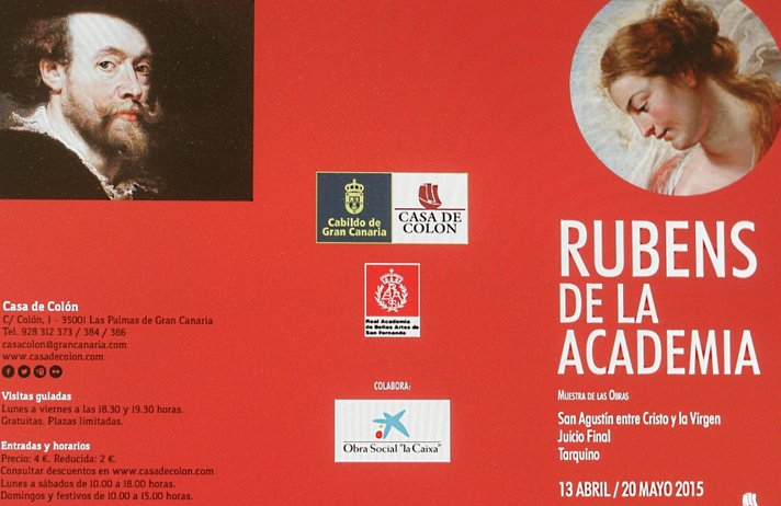 Taiteen suuri mestari Rubens Las Palmasissa