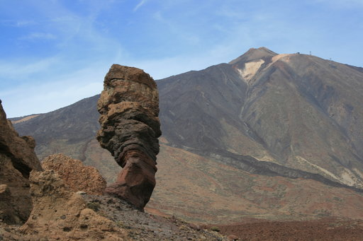 Yksi Teneriffan vetonauloista on Teiden ylätasangon Cabañas del Teide.