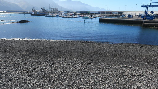 Uimarannat – Agaete: Playa de Puerto de las Nieves<br />  Gran Canaria