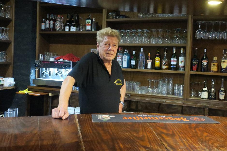Henkilöitä - Las Palmasin baariyrittäjäkonkari Jussi