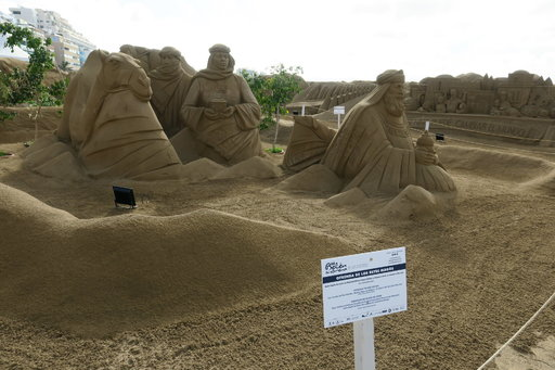 Nähtävyydet - Las Canterasin hiekkabelen 2018-19 Gran Canaria