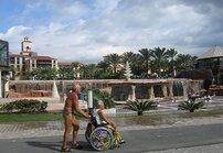 Liikuntaesteisiä kohdellaan ystävällisesti Gran Canaria