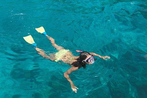 Jos matkaseurueesta vain osa sukeltaa, voivat toiset samaan aikaan esimerkiksi snorklata.