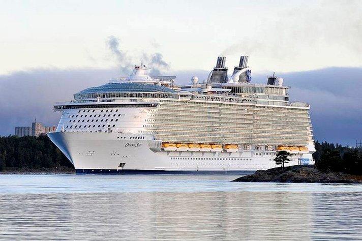Maailman suurin risteilylaiva takaisin Eurooppaan ensimmäistä kertaa