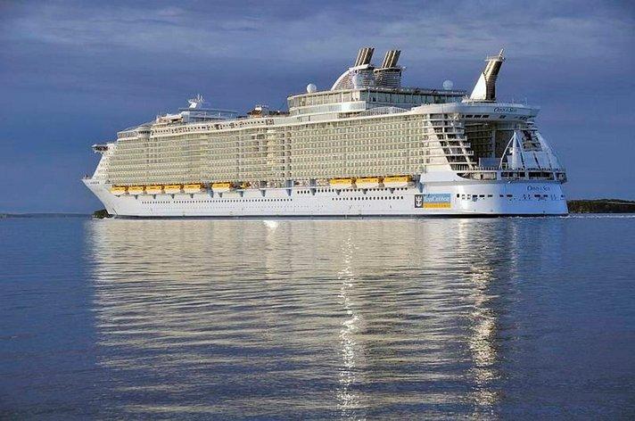 Maailman suurin risteilylaiva Oasis of the Seas saapuu lauantaina Välimerelle