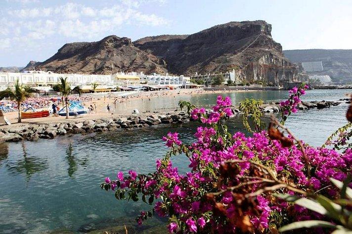 Putinin vierailua Gran Canarialle odotellessa