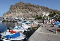 Puerto de Mogán, satamakaupunki Gran Canaria