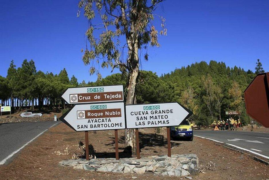 Gran Canaria on pienehkö saari eikä tieveroa ole, mutta maastovaihteluiden vuoksi myös lyhyeen matkaan saattaa mennä yllättävän paljon aikaa.