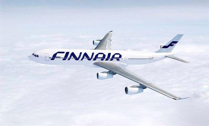 Finnairin matkustajamäärä kasvoi 6,5 prosenttia